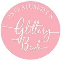 As featured on Glittery Bride